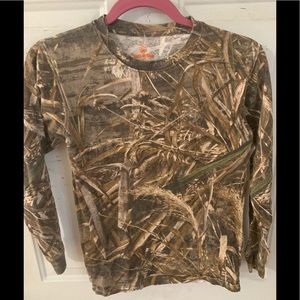 6fa92a533 game winner · Xl youth camo long sleeve